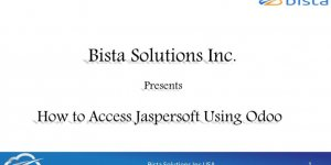 Jaspersoft Integration with OpenERP