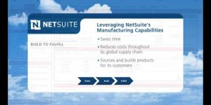 NetSuite Manufacturing Capabilities – Build to Fulfill
