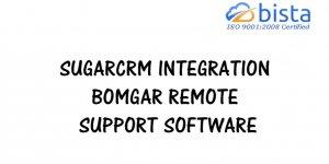 SugarCRM Integration BOMGAR Remote Support Software
