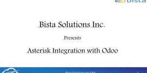 VOIP telephony integration with Odoo 8 using Asterisk