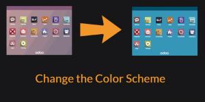 Odoo change color