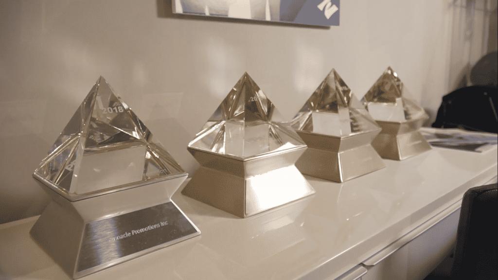 Pinnacle promotions awards 1