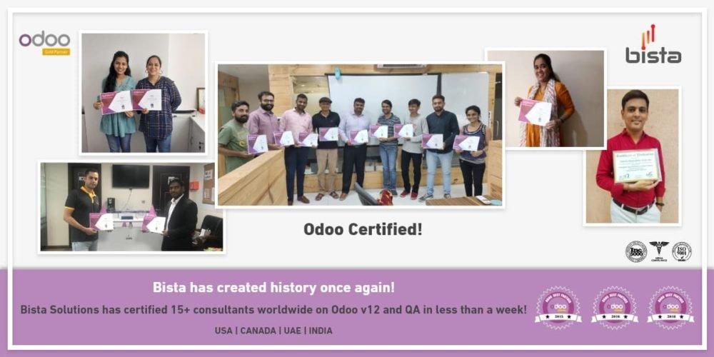 Odoo 12 Certification