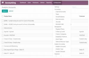 odoo accounting application module