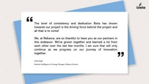 Reliance Partner case study